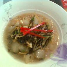 银鱼冬瓜汤