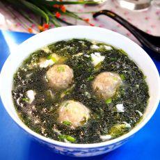 鲮鱼丸紫菜汤的做法