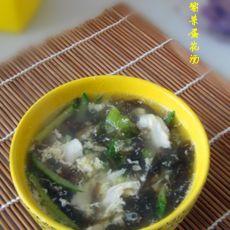 黄瓜紫菜蛋花汤的做法