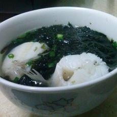 豆腐鱼紫菜汤的做法