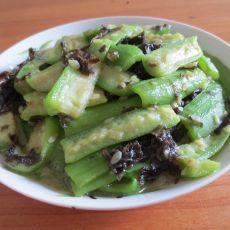 紫菜烩丝瓜