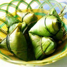 酱香卤蛋紫菜肉粽的做法