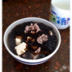 紫菜豆腐肉片汤的做法