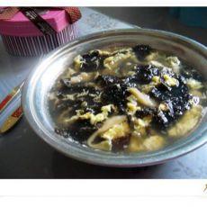 紫菜榨菜蛋花汤