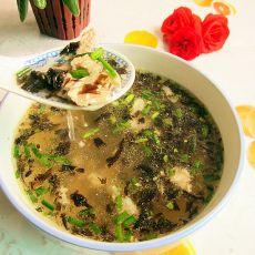 瘦肉紫菜汤