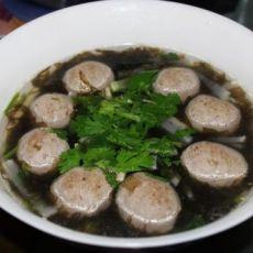 紫菜牛丸萝卜汤