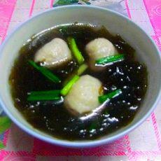 紫菜鱼丸汤