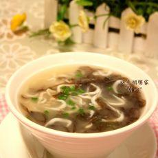 银鱼紫菜汤