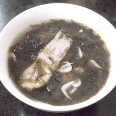 鱼片虾皮紫菜汤的做法