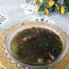 排骨紫菜虾皮汤