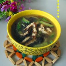 紫菜黄瓜鸡丝汤的做法