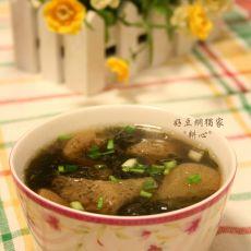 竹荪紫菜汤