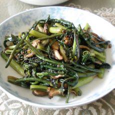 香菇炒紫菜