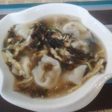紫菜蛋皮汤馄饨