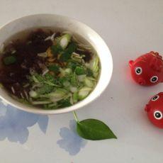 速冲紫菜汤