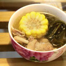 海带鸭子汤的做法
