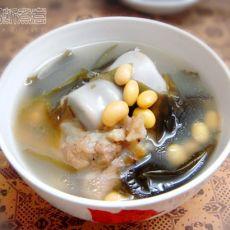 海带筒骨汤的做法