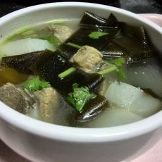 萝卜海带骨头汤