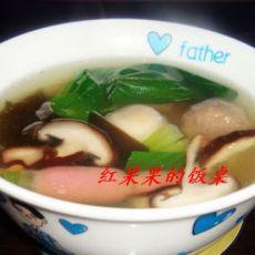 香菇肉丸海带汤