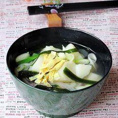 在家做韩式料理----韩式土豆清汤