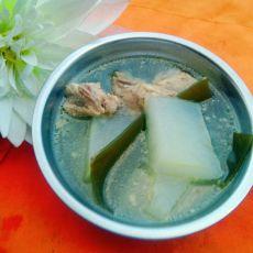冬瓜海带龙骨汤的做法