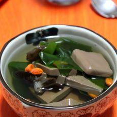 鸭血海带汤