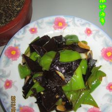 尖椒炒海带