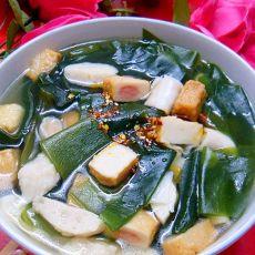 什锦鱼丸海带汤