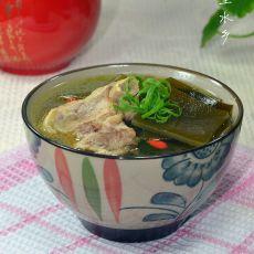 猪脊骨海带汤