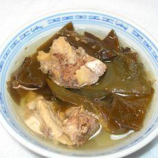 海带猪骨汤的做法