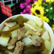 萝卜海带炖牛肉