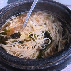 石锅酱汤面