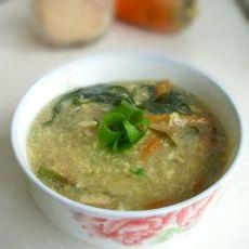 胡萝卜海带杂烩汤