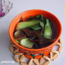 青菜海带汤