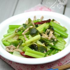 海带炒芹菜