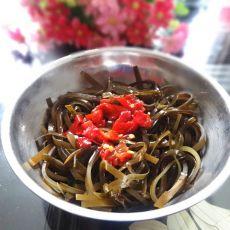 红椒拌海带丝