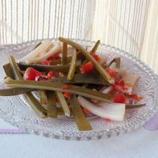 海带炒藕片