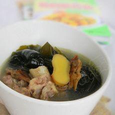 蛏干海带骨头汤的做法