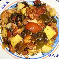 海带土豆烩肉