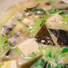 黄花鱼豆腐煲