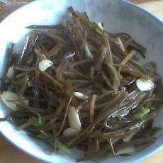 清炒海带丝
