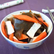 胡萝卜拌海带