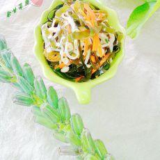 金针菇拌海带