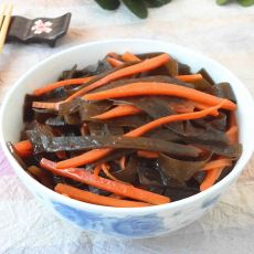 胡萝卜烧海带