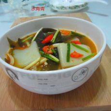 海带烧米豆腐的做法