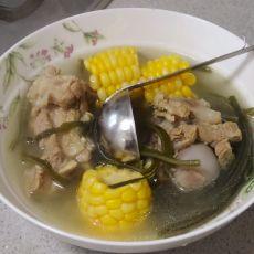 玉米海带丝大骨汤