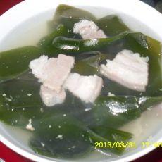 海带鲜肉汤