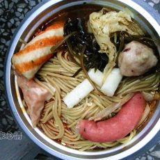 杂蔬黑苦荞锅的做法