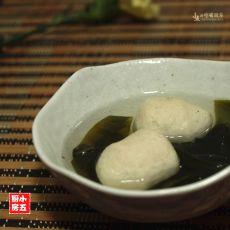 海带鱼丸汤的做法