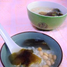 海带豆香粥